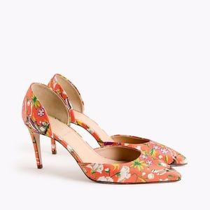 Drake's for J. Crew Lucie Pumps D'Orsay Heels